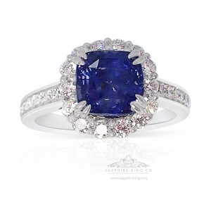 Blue-sapphire-and-diamonds-and-platinum-ring
