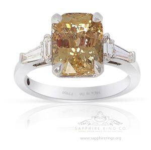 Yellow-Ceylon-sapphire-ring