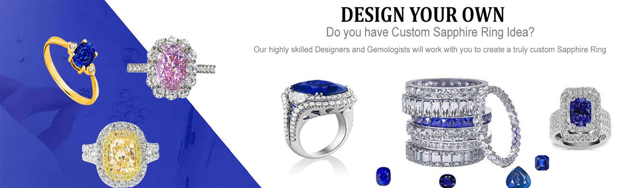 Design your Own Sapphire Rings Design