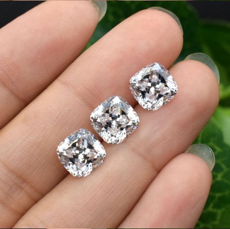 white natural sapphire