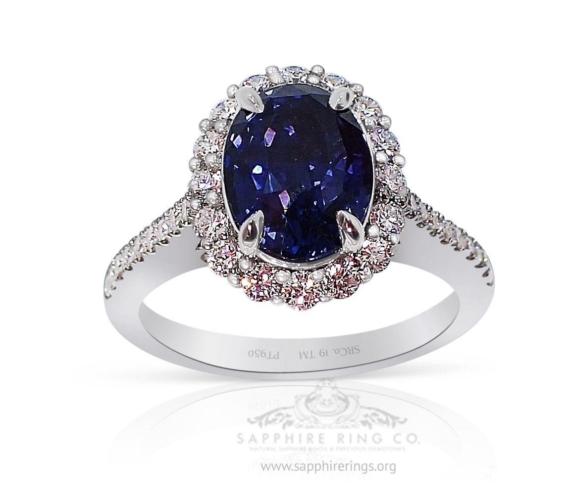 Natural Ceylon Sapphire Ring