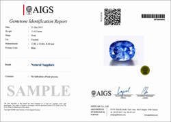 The Full Report comes on Sapphires.