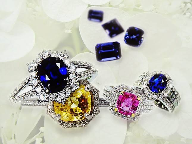 Real gemstone
